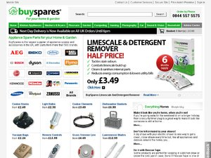 Buy Spares website