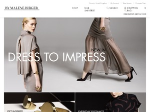 Malene Birger UK website
