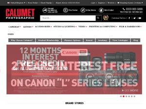 Calumet Photographic website
