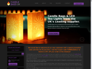 Candle bags website