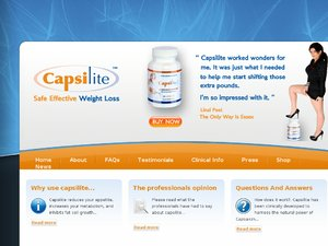 Capsilite website