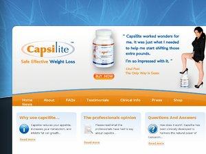 Capsilite website