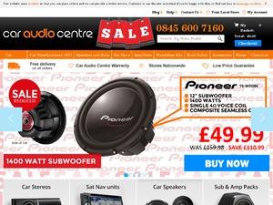 Car Audio Centre website
