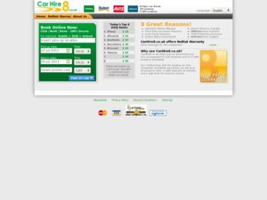 CarHire8 website
