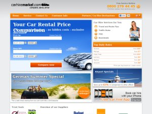 Carhire Market website