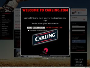 Carling website