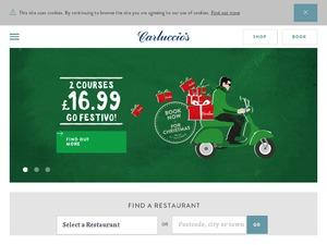 Carluccios website