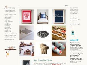 Caroline McGrath website