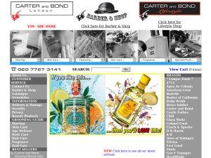 Carter and Bond website