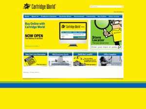 Cartridge World website
