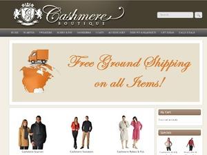 Cashmere Boutique website