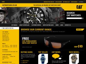 Cat Watches website