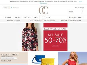 CC Fashion website