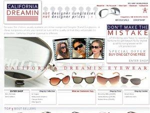 California Dreamin website