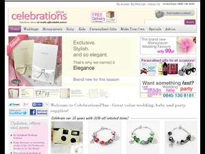 Celebrations Plus website