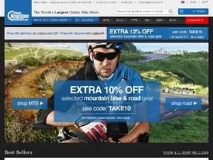 Chain Reaction Cycles website