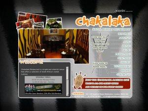 Chakalaka Restaurants website