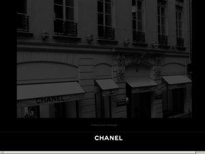 Chanel website