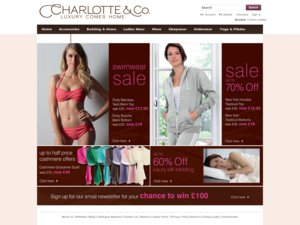 Charlotte & Co website