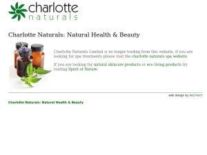 Charlotte Naturals website