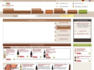 Chateau Online website