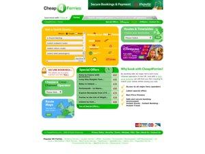 Cheap4Ferries website