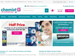 Chemist 4 U website