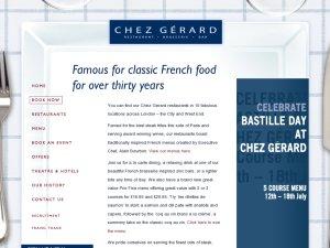 Chez Gerard website