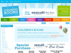 Childrens Rooms website