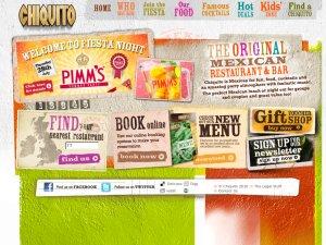 Chiquito website