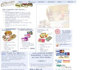 Chocolate Now website