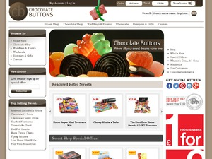 Chocolate Buttons website