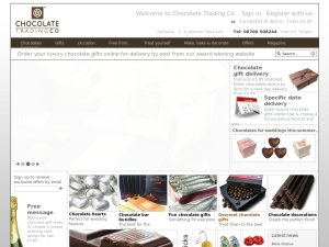 Chocolate Trading Company website