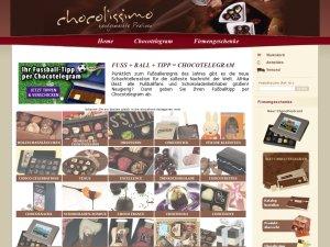 Chocolissimo website