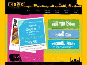 Chowki website
