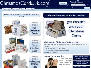 Christmas Cards website