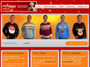 Christmas Jumper website