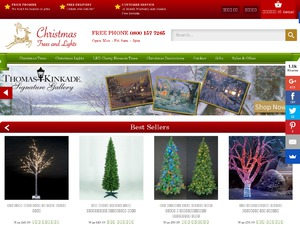 Christmas Trees and Lights website