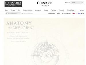 Christopher Ward website
