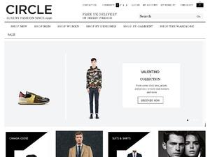 Circle Fashion website