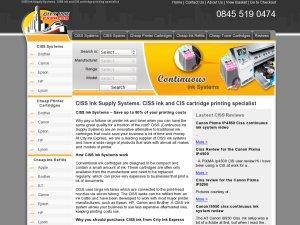 City Ink Express website