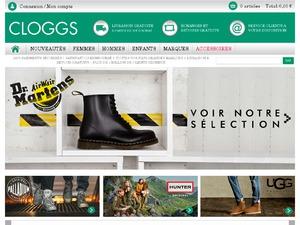 Cloggs website