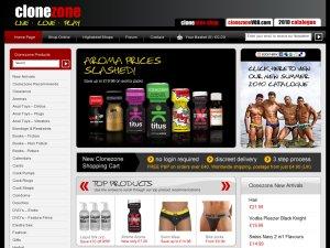 Clone Zone website