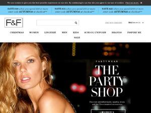 F&F website