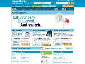 Co-Op Credit Card website