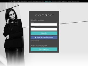 Cocosa website