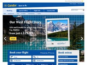 Condor US website
