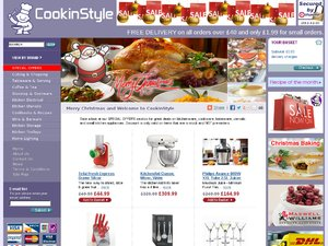 Cook In Style website