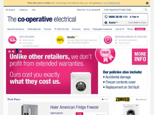 The Co-operative Electical website