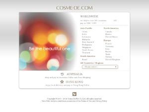 Cosme-De.com website